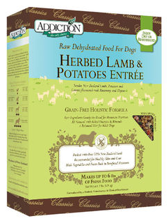 Lamb & Potatoes 0.9 Kg - Addiction Grain Free