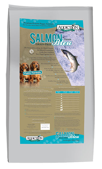 PUPPY ADDICTION 9 KG SALMON BLEU