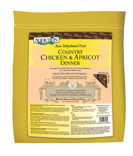 Chicken & Apricot 3.6 Kg - Addiction Grain Free