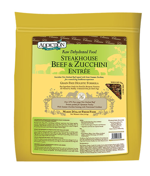 Beef & Zucchni 3.6 Kg - Addiction Grain Free